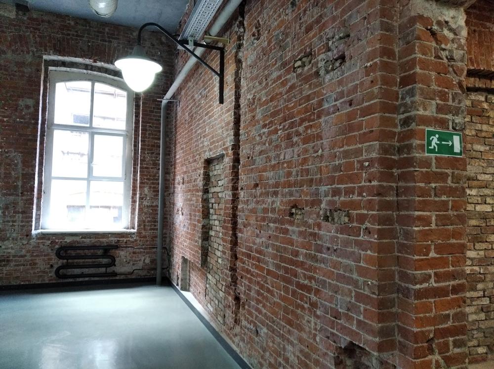 Кирпичная стена лофт