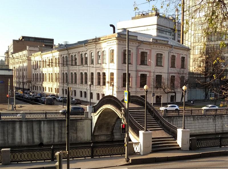 Таможенный мост Сыромятники